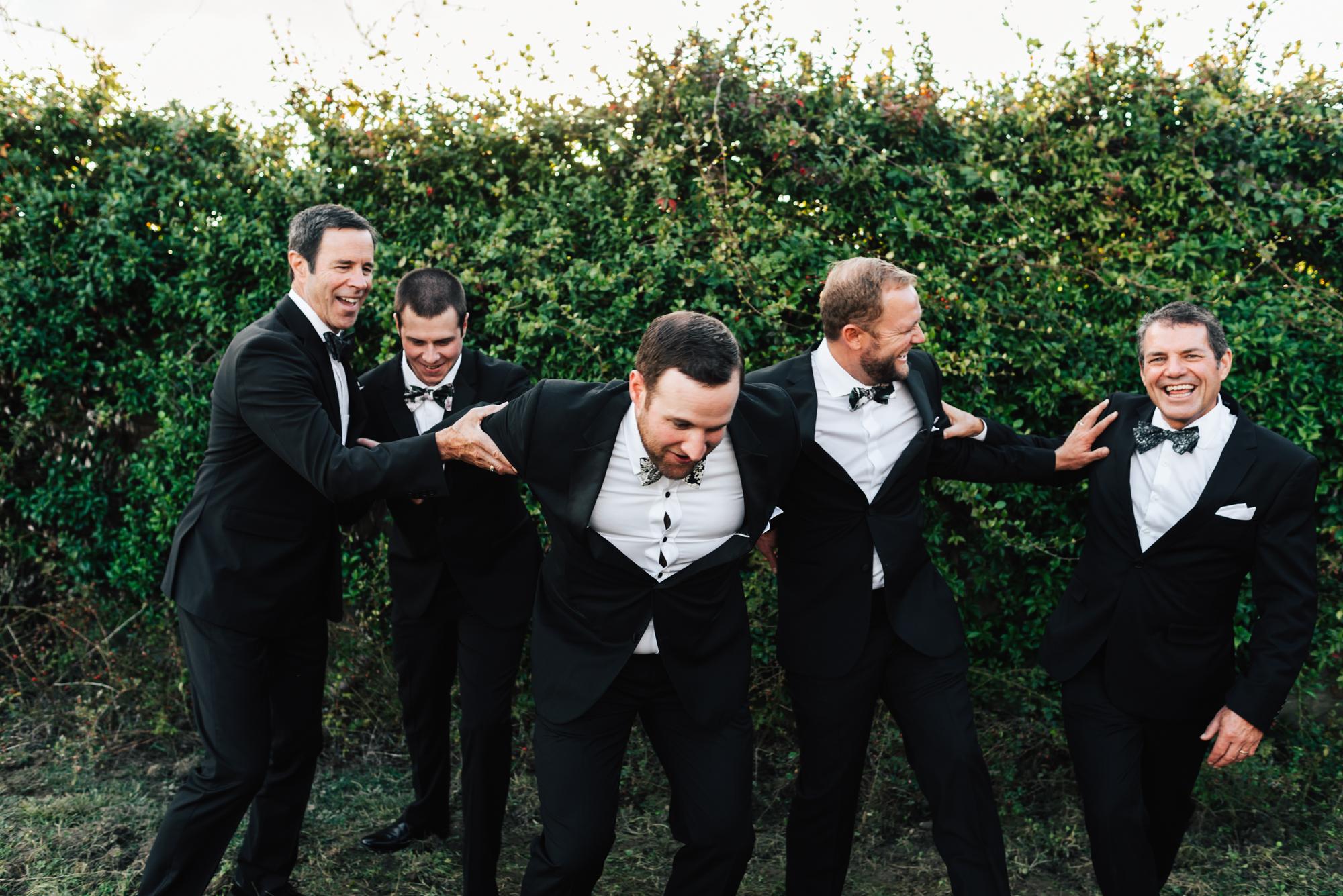 SamErica Studios - Cortona Italy Wedding -  Modern Destination Wedding photographers - fun groomsmen portraits