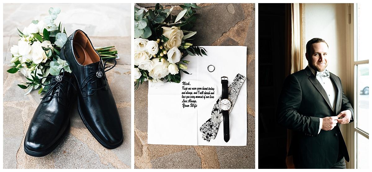 SamErica Studios - Amalfi Italy -  Modern Destination Wedding photographers - classy groom portraits groom details groom flatlays
