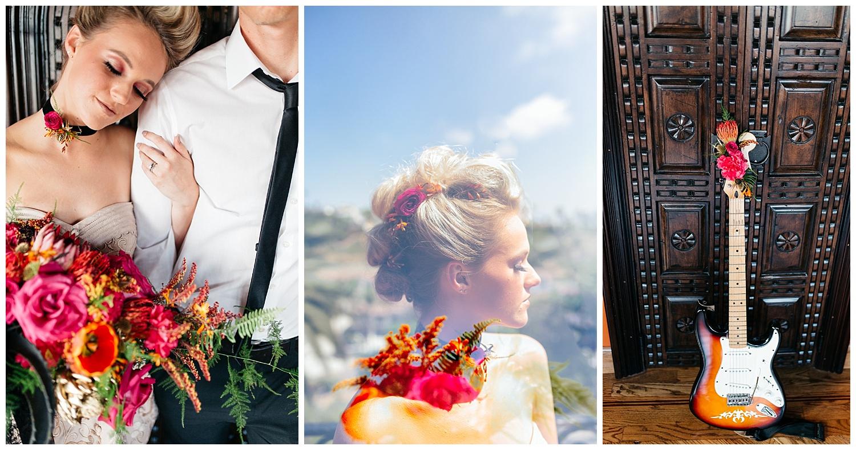 SamErica Studios - Colorfully Modern Rainbow Rock and Roll Wedding San Diego