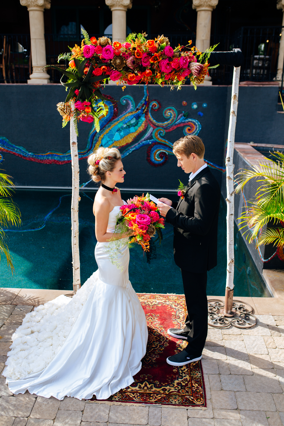 SamErica Studios - San Diego Palm Springs Wedding Photographer - Colorful Rock and Roll Styled Shoot-76.jpg