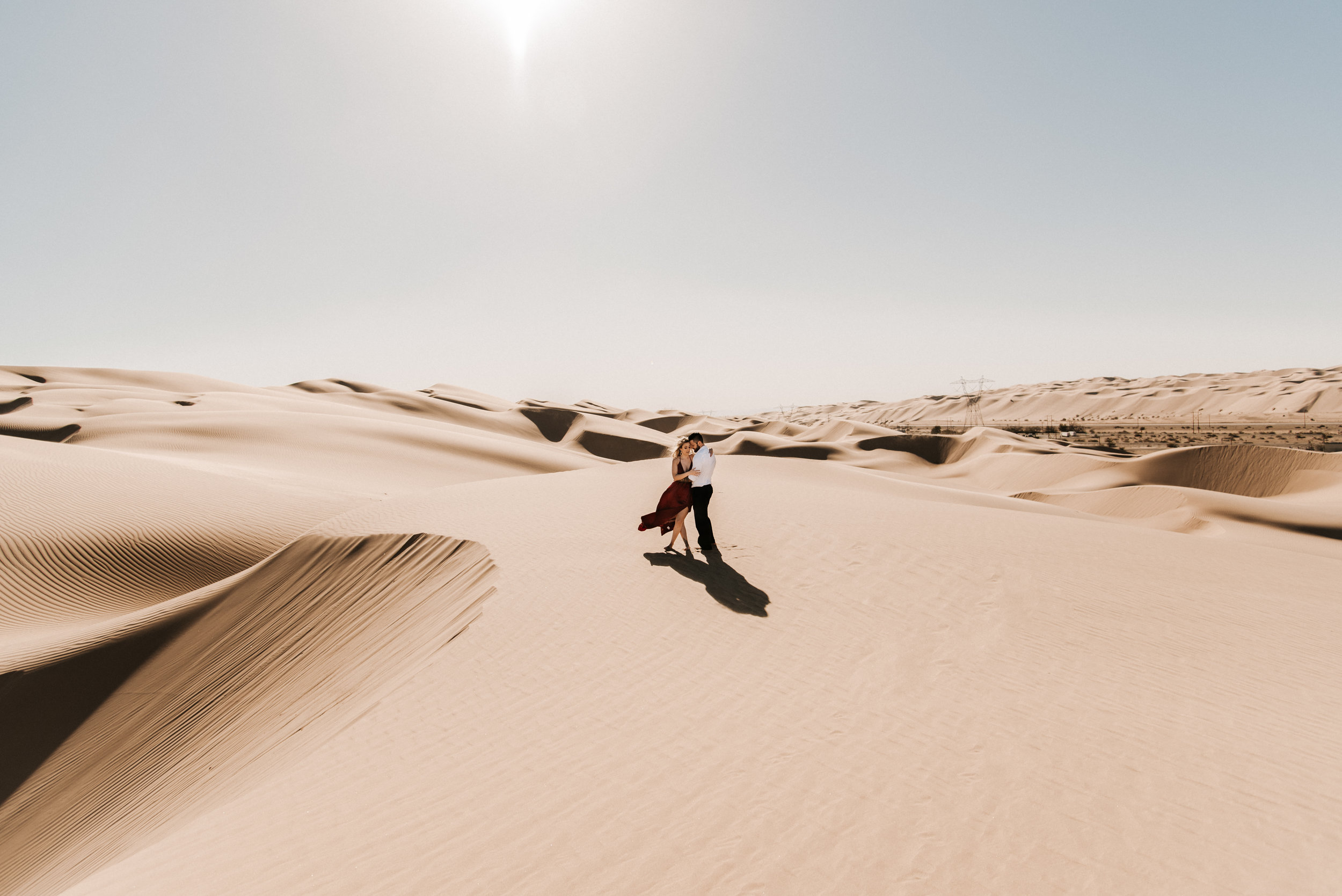 SamErica Studios - Modern San Diego Engagement Photographer - Adventure Engagement Session in Glamis Sand Dunes California-15.jpg
