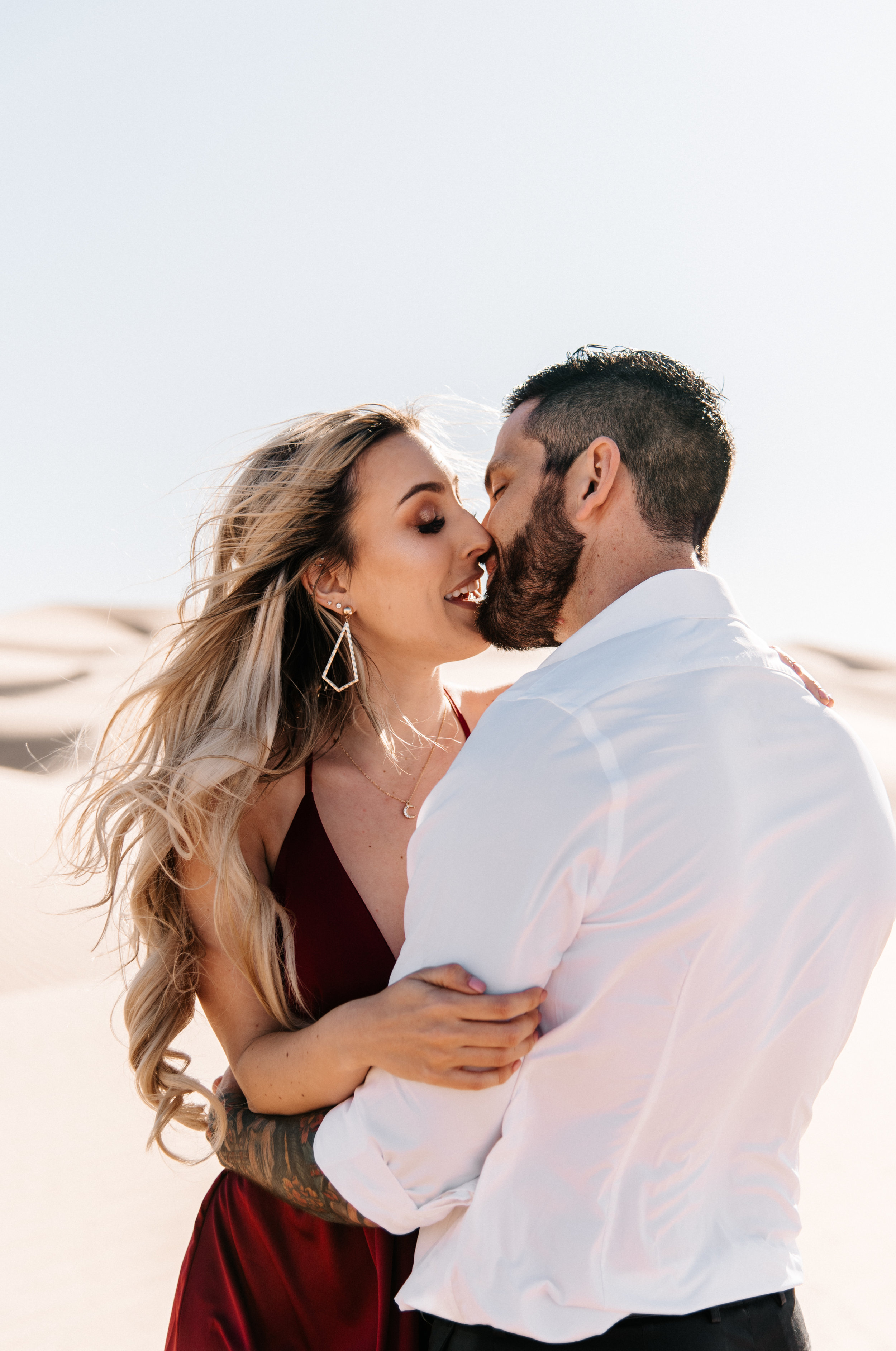 SamErica Studios - Modern San Diego Engagement Photographer - Adventure Engagement Session in Glamis Sand Dunes California-18.jpg