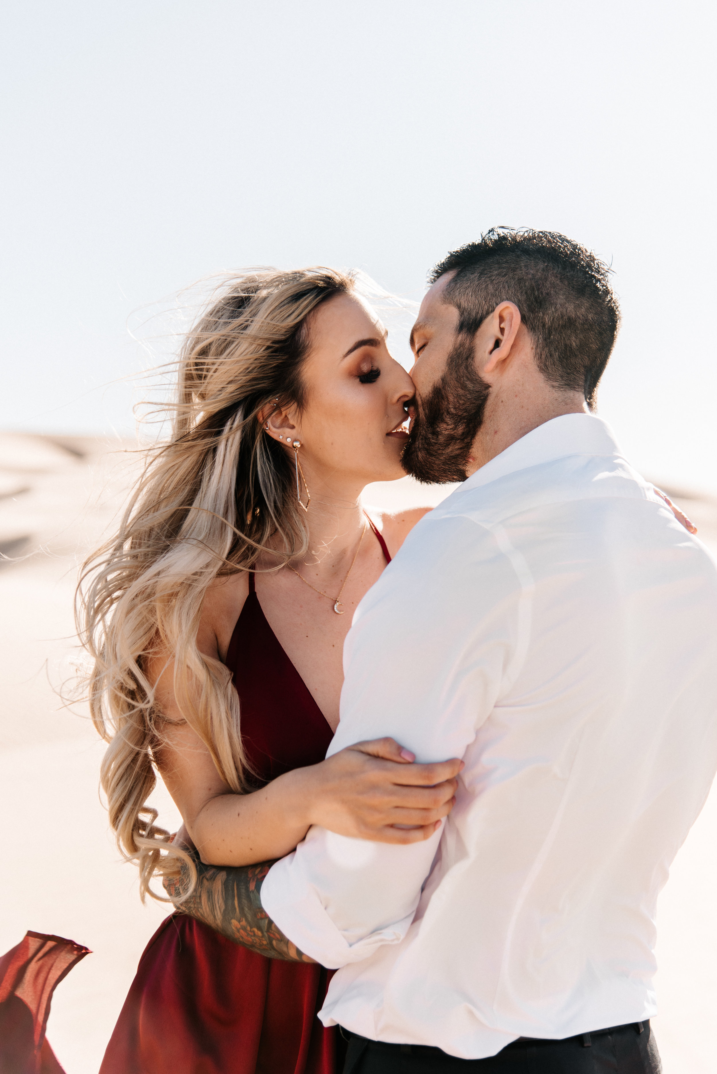 SamErica Studios - Modern San Diego Engagement Photographer - Adventure Engagement Session in Glamis Sand Dunes California-19.jpg