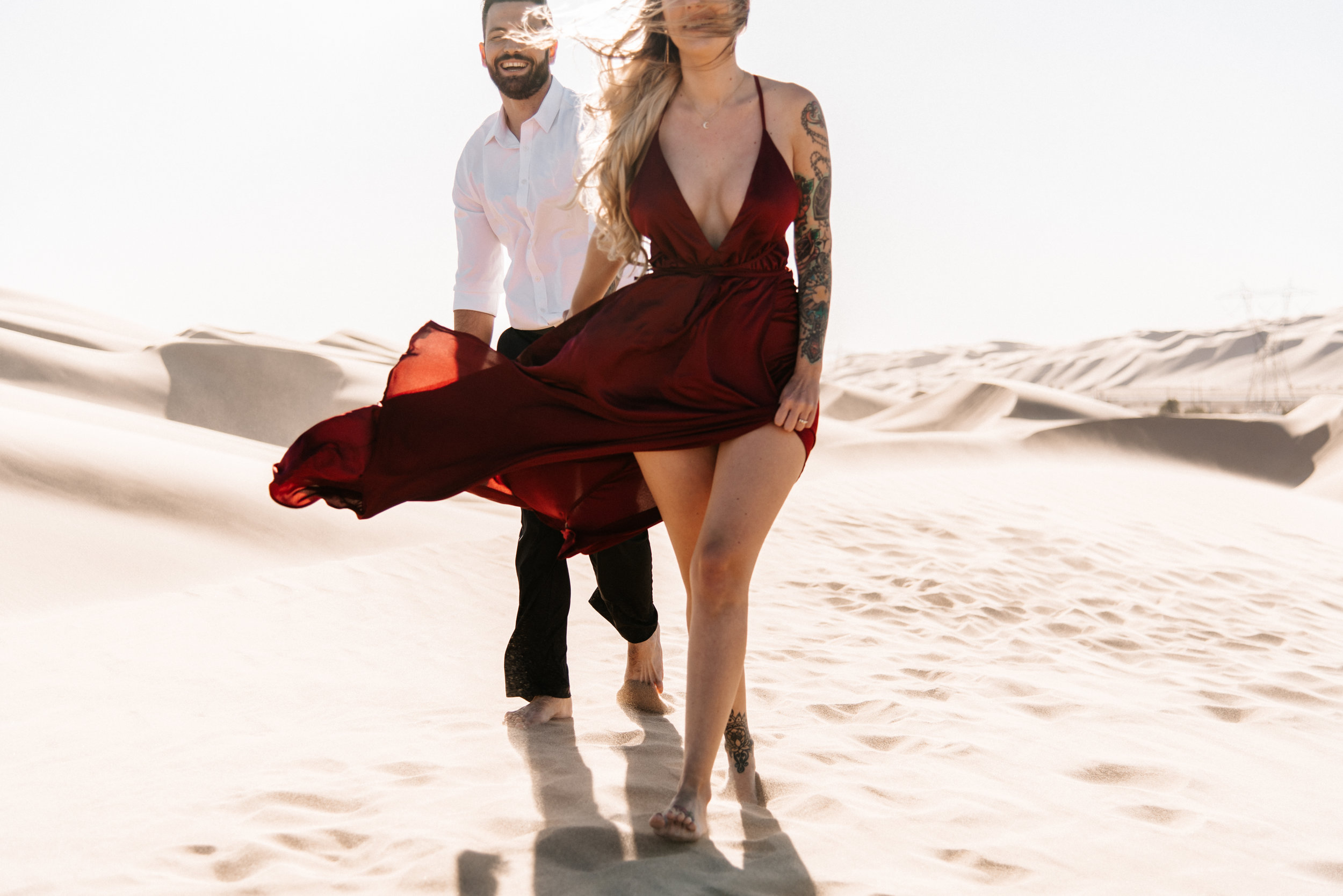 SamErica Studios - Modern San Diego Engagement Photographer - Adventure Engagement Session in Glamis Sand Dunes California-27.jpg