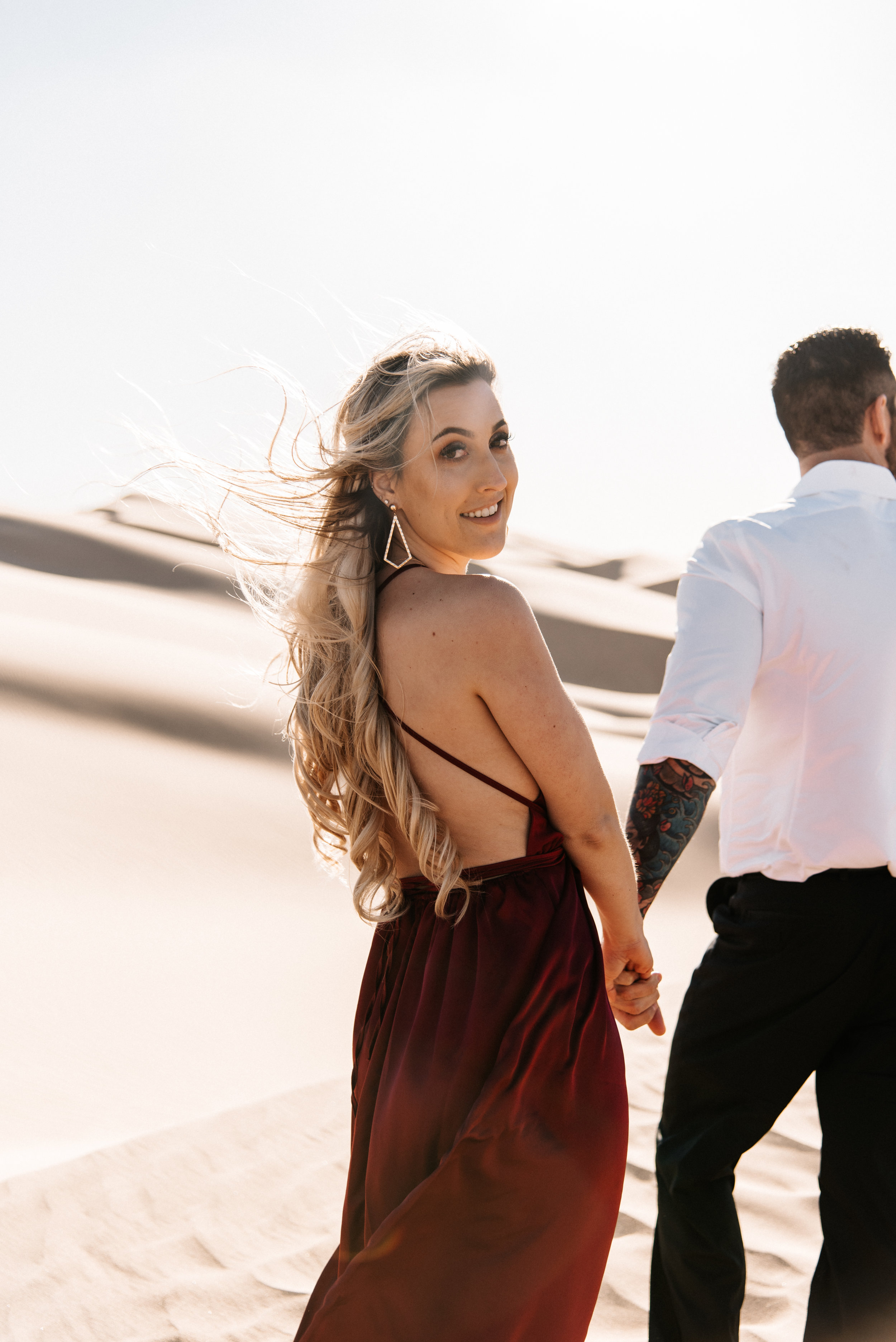 SamErica Studios - Modern San Diego Engagement Photographer - Adventure Engagement Session in Glamis Sand Dunes California-28.jpg