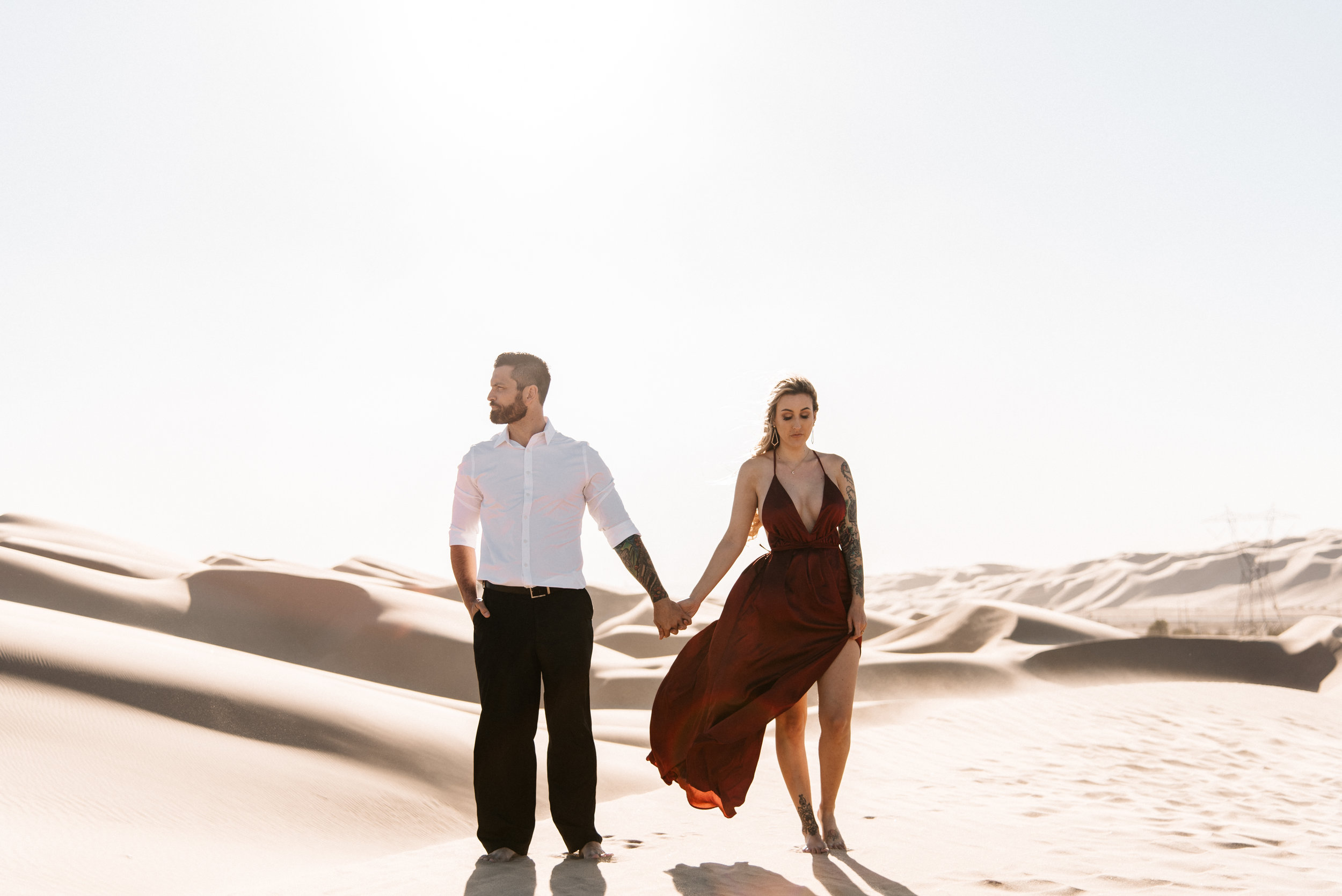 SamErica Studios - Modern San Diego Engagement Photographer - Adventure Engagement Session in Glamis Sand Dunes California-31.jpg