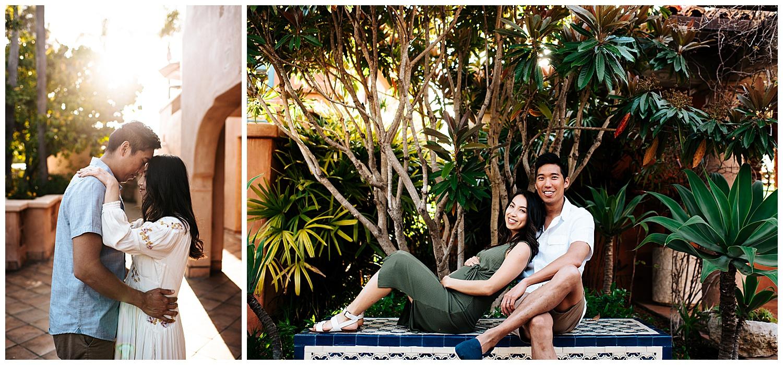 SamErica Studios - San Diego Maternity Photographer - Modern Palm Tree Desert Oasis Maternity Session - San Diego Babymoon at the Villas at Rancho Valencia_0009.jpg