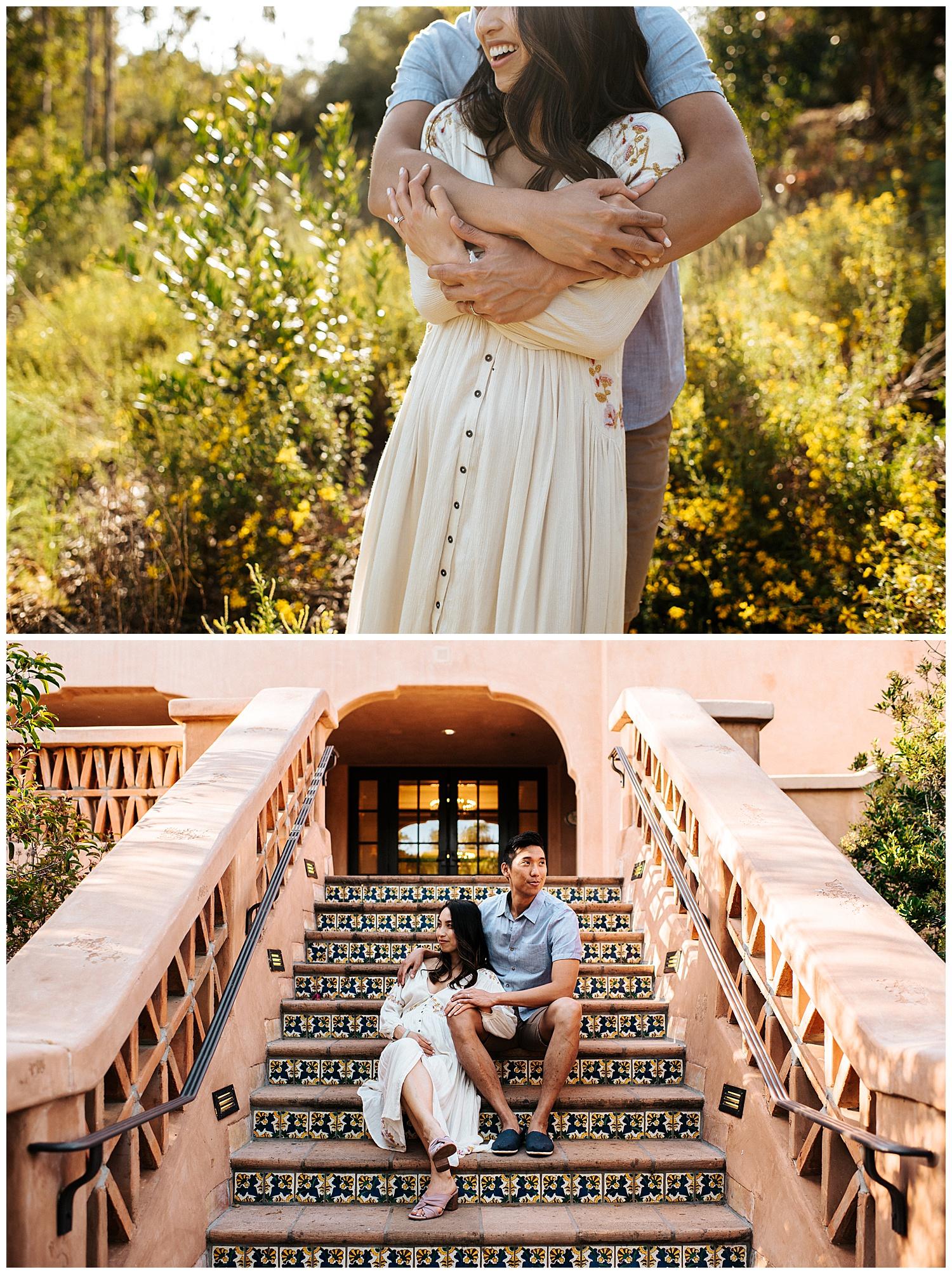 SamErica Studios - San Diego Maternity Photographer - Modern Palm Tree Desert Oasis Maternity Session - San Diego Babymoon at the Villas at Rancho Valencia_0015.jpg