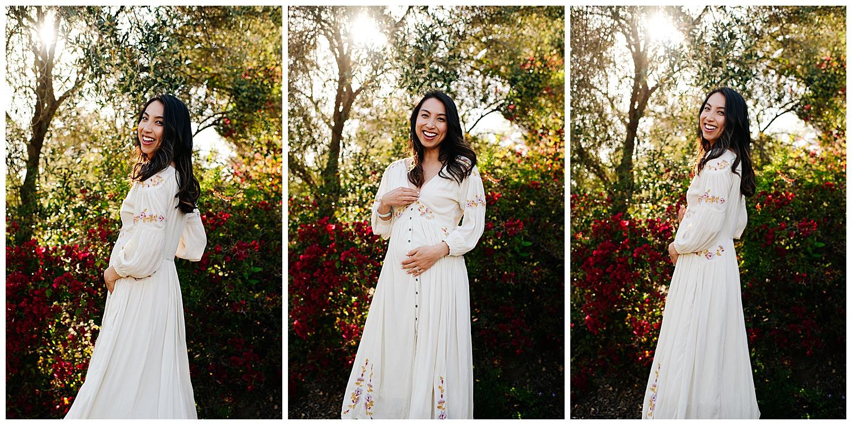 SamErica Studios - San Diego Maternity Photographer - Modern Palm Tree Desert Oasis Maternity Session - San Diego Babymoon at the Villas at Rancho Valencia_0017.jpg