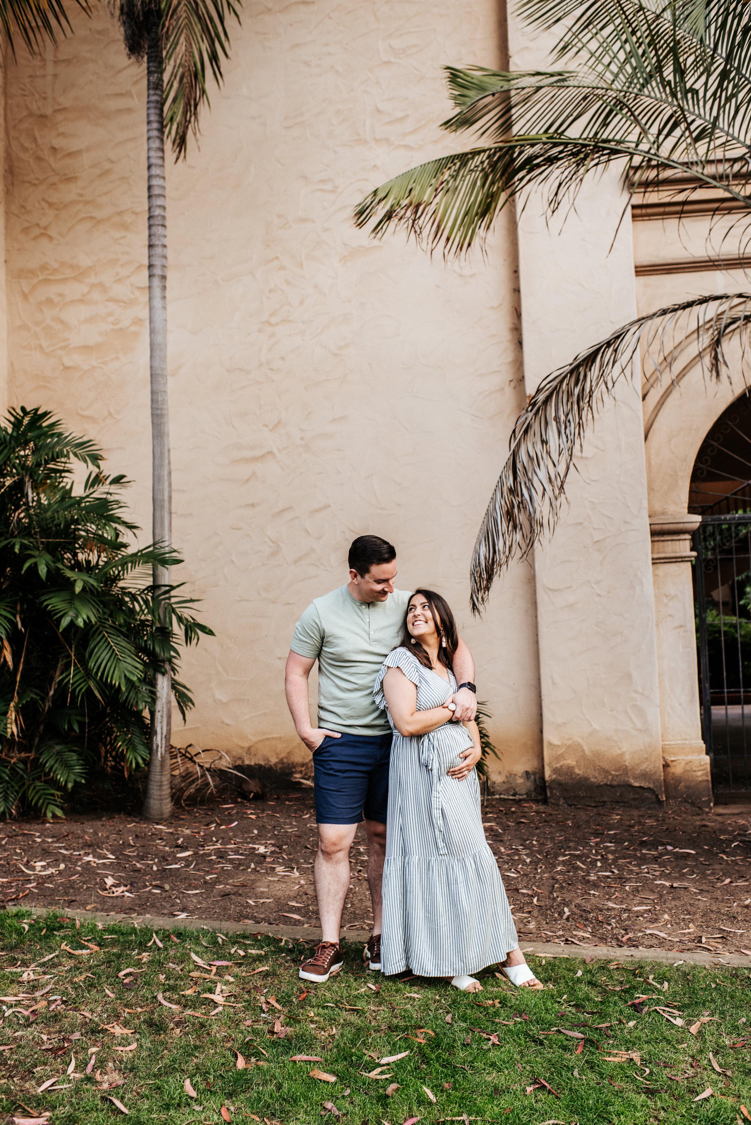 SoCal Standard - San Diego Maternity Photographer - Couples Maternity Session - Balboa Park Cactus Garden -128.jpg