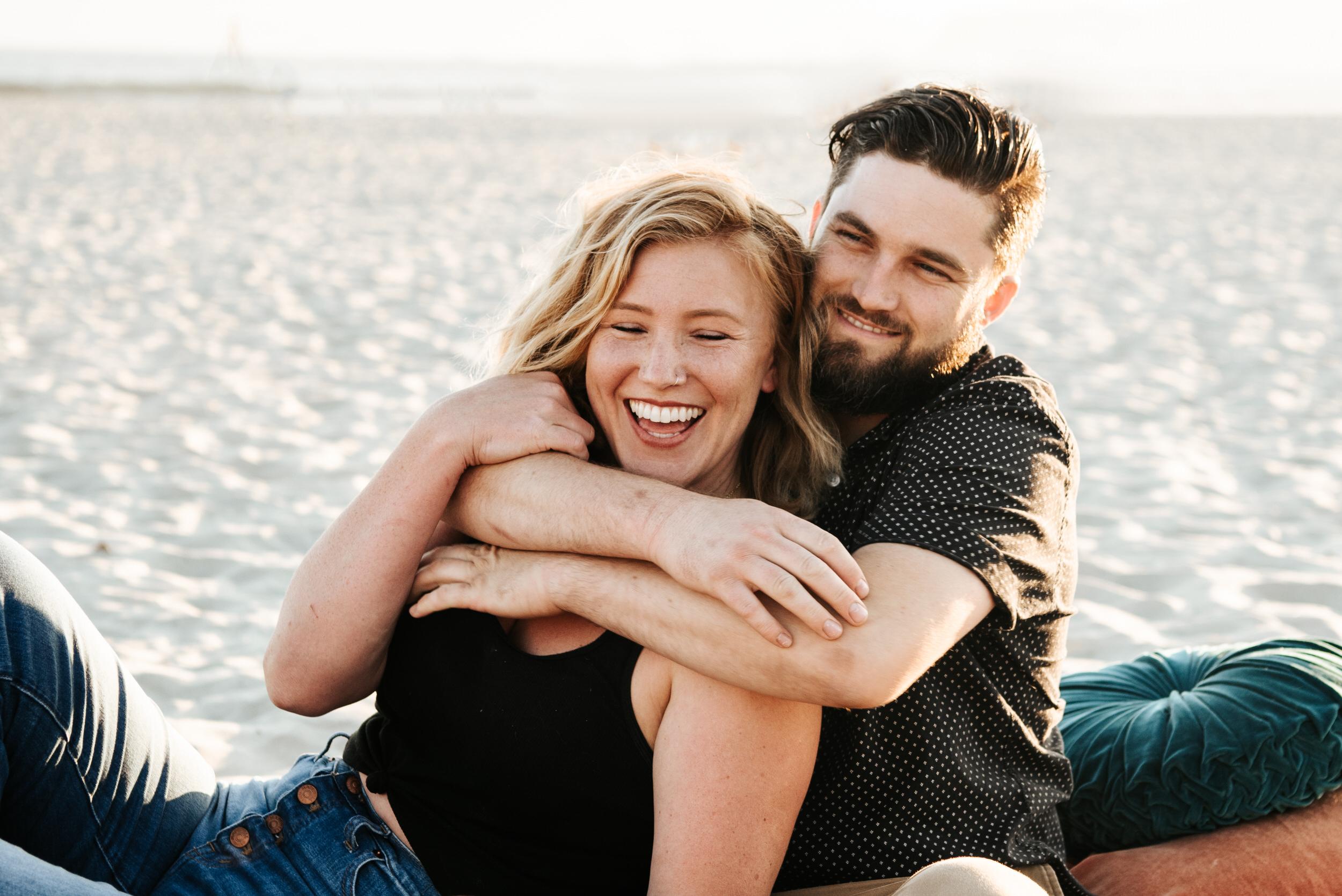 Coronado Beach Engagement