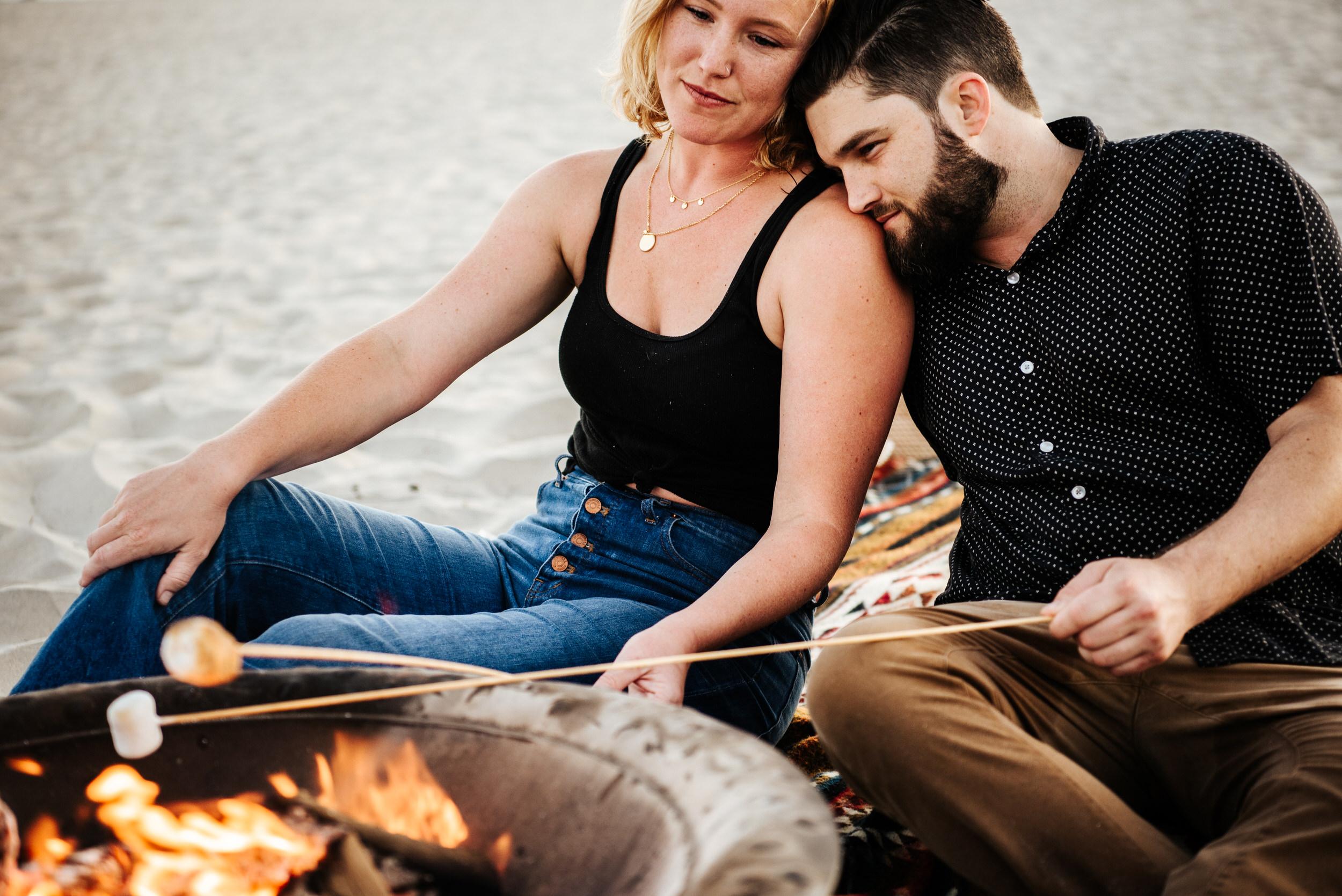 SoCal Standard - San Diego Engagement Photographer - Beach Bonfire at the Hotel Del Coronado-33.jpg