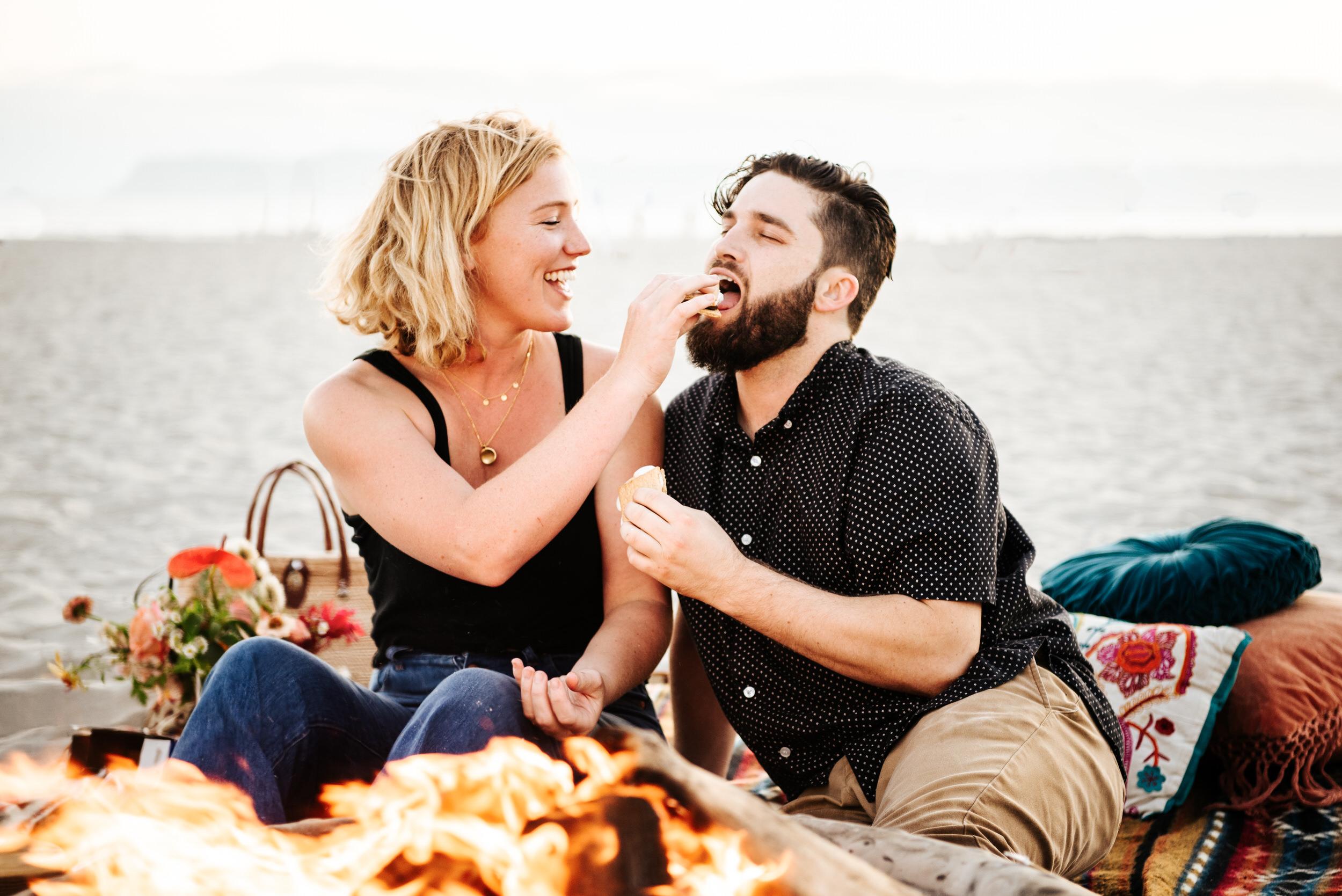 SoCal Standard - San Diego Engagement Photographer - Beach Bonfire at the Hotel Del Coronado-34.jpg