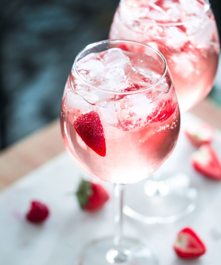 First it was the Frose now Pink Gin, Its the drink of summer.  The Bitter Truth