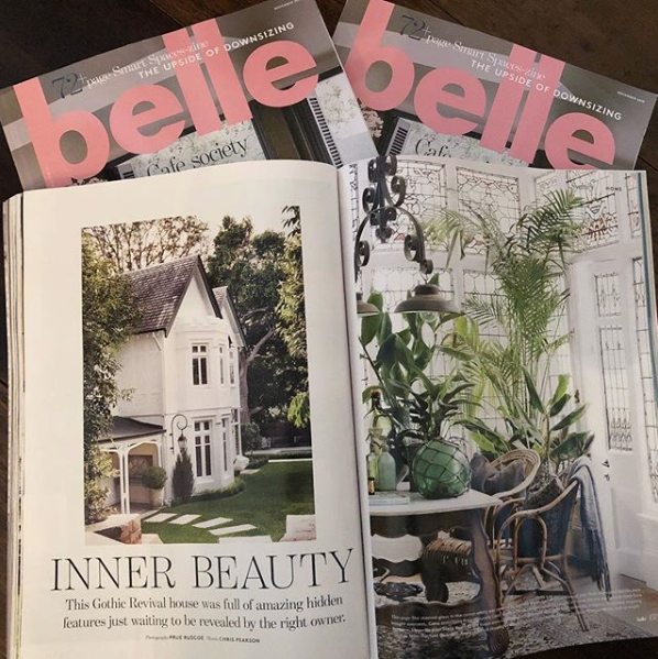 GreenoakS Cottage in Belle Magazine - The eclectic mix of heritage features at Greenoaks Cottage is what makes it such a unique home. The character is enhanced with new charm added on top. You can see more of this house in the November issue of Belle Magazine.WINNER: INTERIOR DESIGN SCHEME - ASIA PACIFIC The International Design & Architecture Awards 2018Architect: Hancock ArchitectsPhotography: Prue Ruscoe