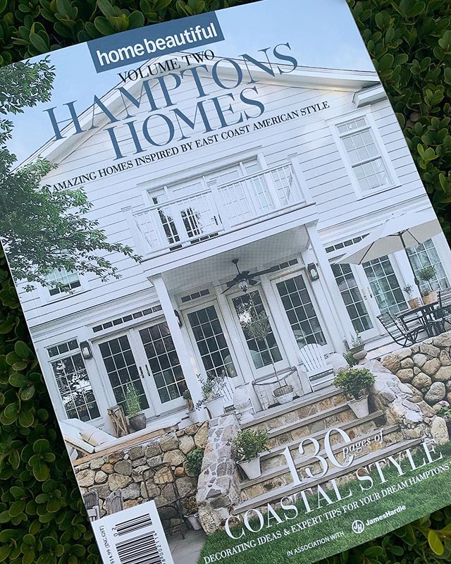 Excited to have @brontebeachhouse featured in the latest edition of @homebeautiful Volume Two - Hamptons Homes. DKIxx