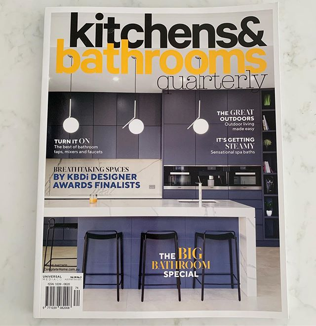 Excited to see our @brontebeachhouse project featured in the @kitchensbathroomsquarterly magazine @theenglishtapwarecompany! DKIxx