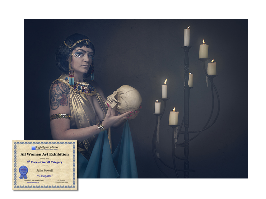 Cleopatra - 9th Place All Women Art Exhibition