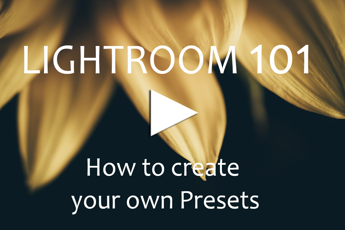 Learn to Create your own Presets