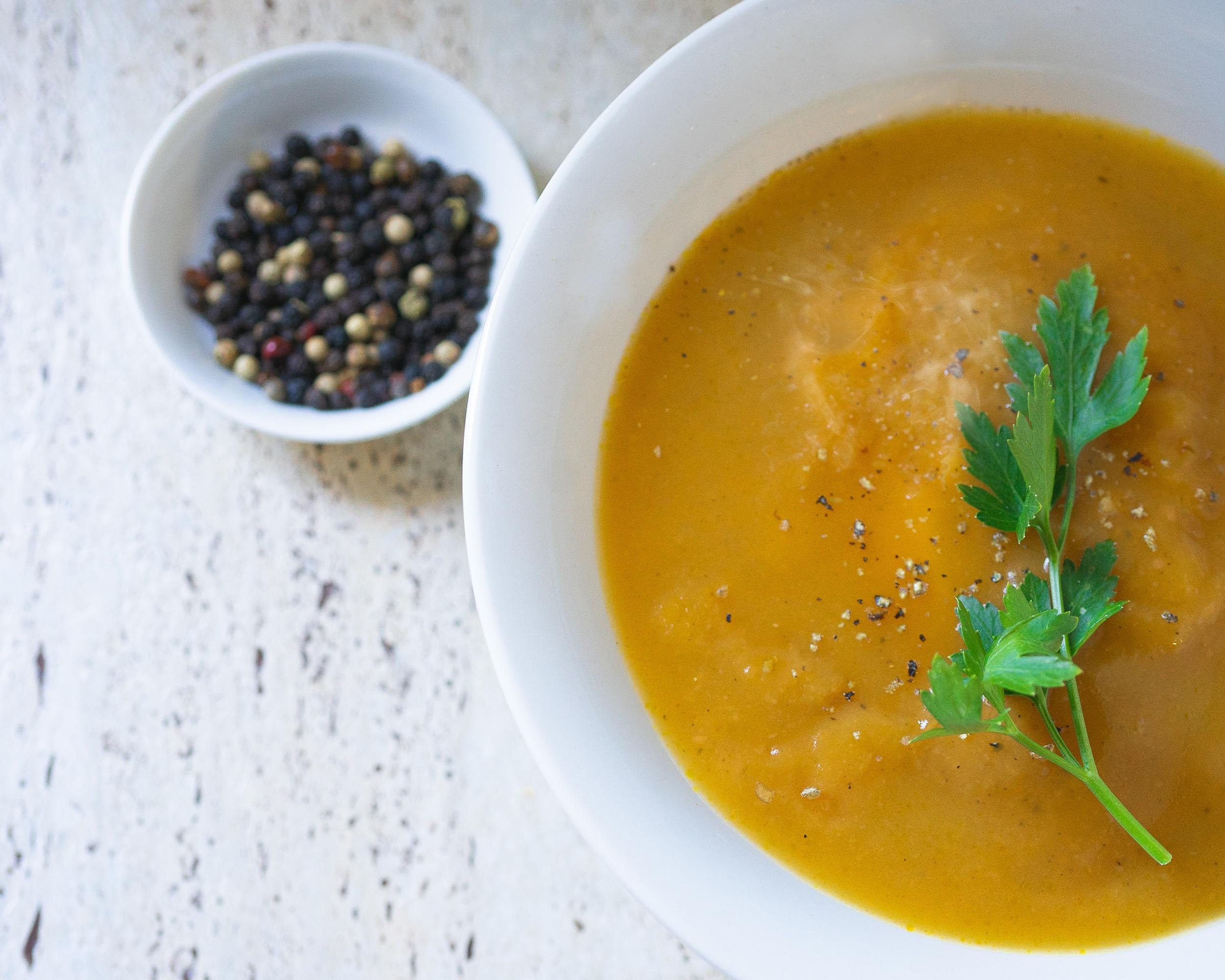 Easy Roast Pumpkin Soup