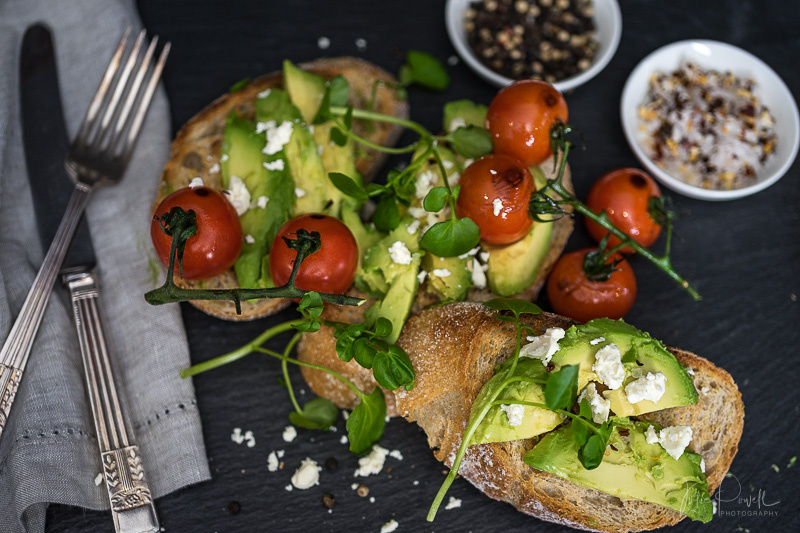 Fresh Avocado on Toast