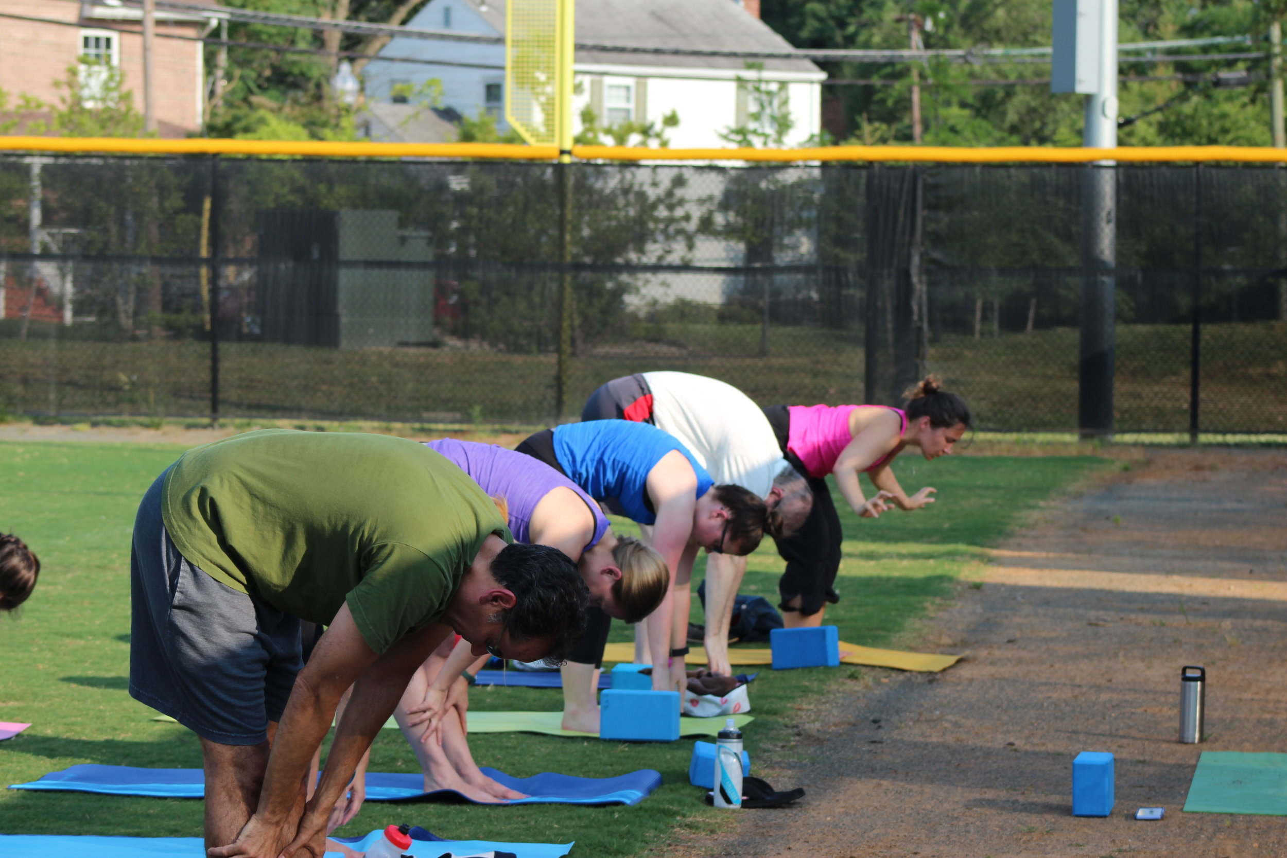 Yoga in the Outfield Fundraisers