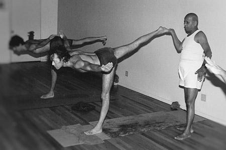 Guruji and Richard, Encinas 1989