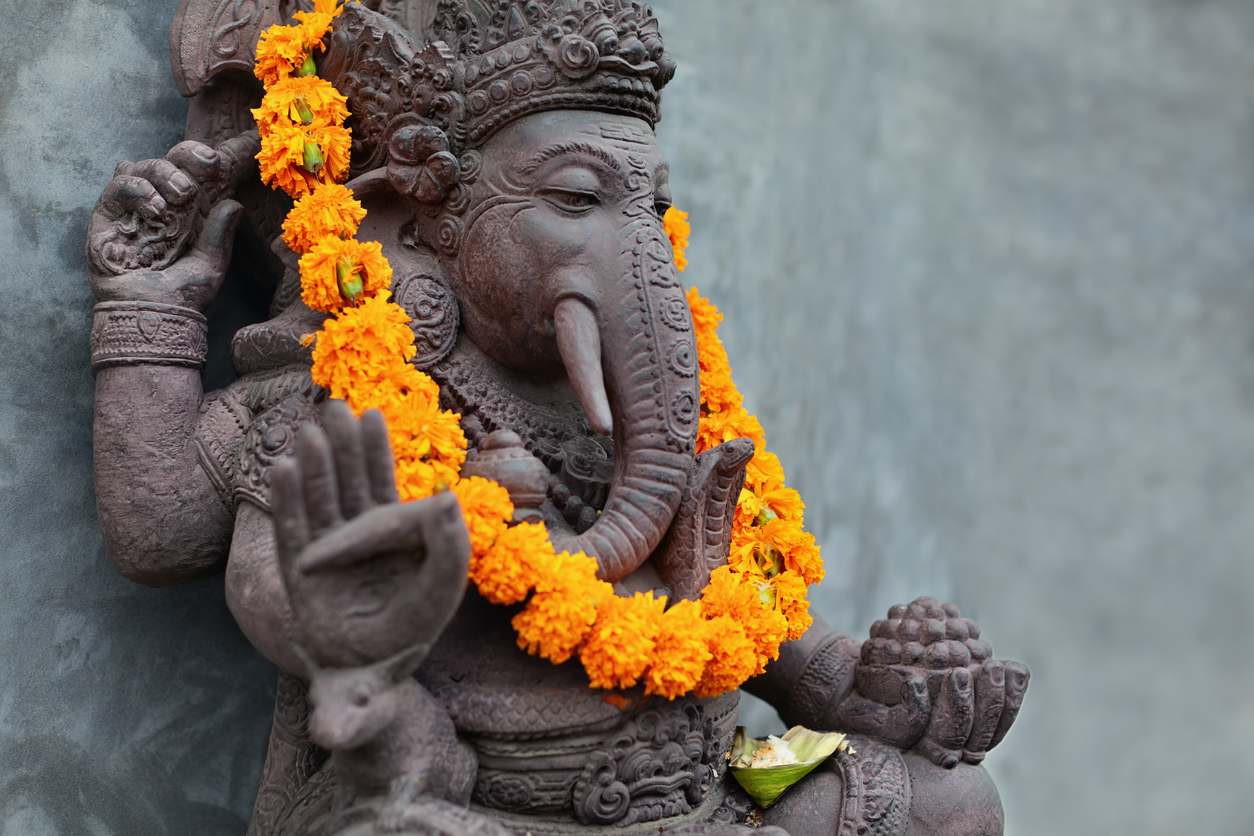 May Ganesha help us to gain insight into what is arising in the present moment so that all beings become free in the clear light of compassion.