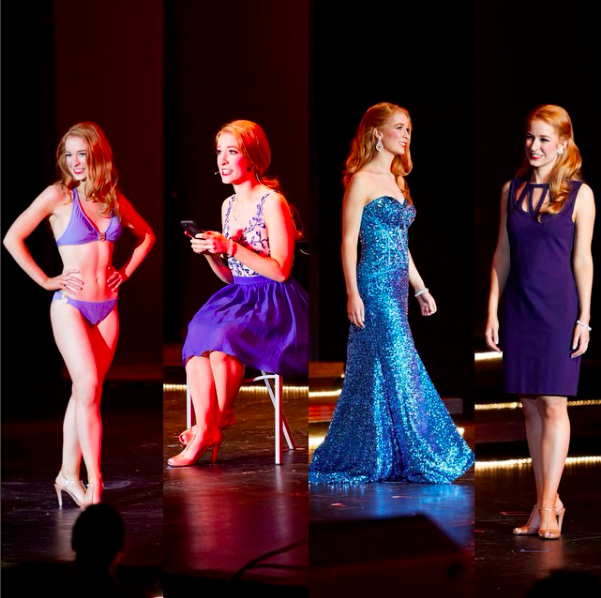Competing for Miss Pierce County 2015