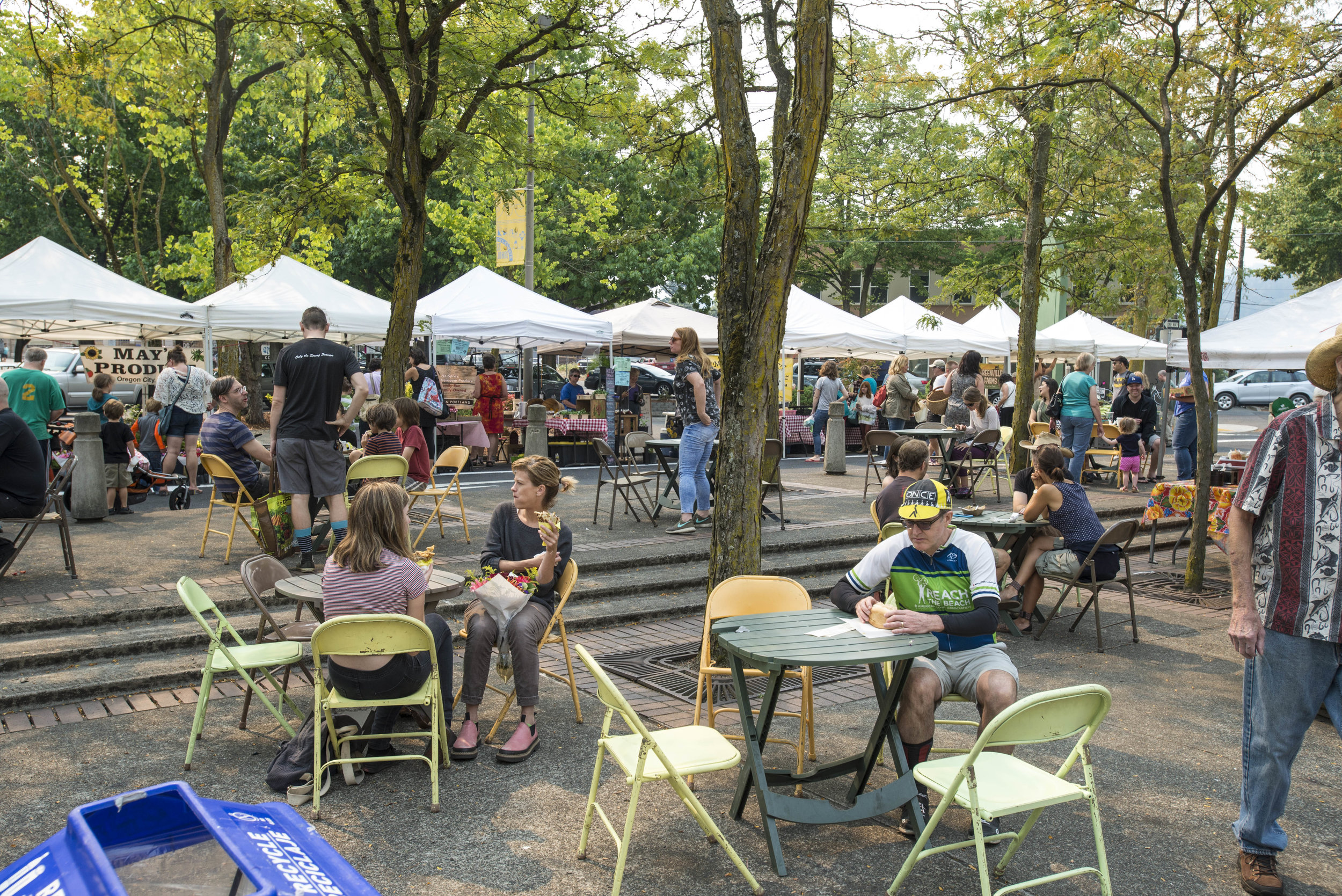 St Johns Farmers Market plaza