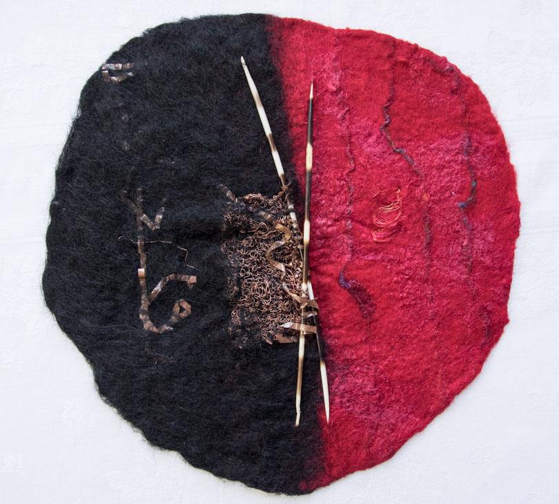 Knitting Stevie Wonder II (SOLD)