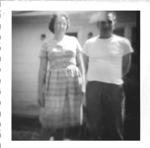 First photograph - my parents.