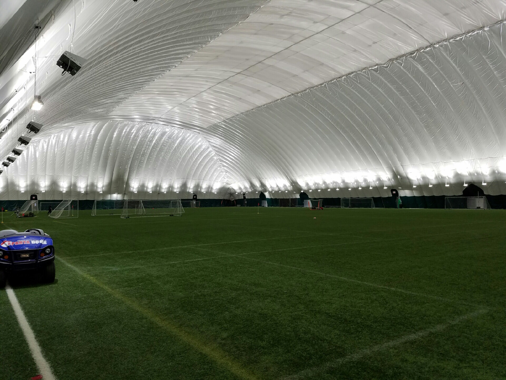 Sports Dome & Indirect Lighting