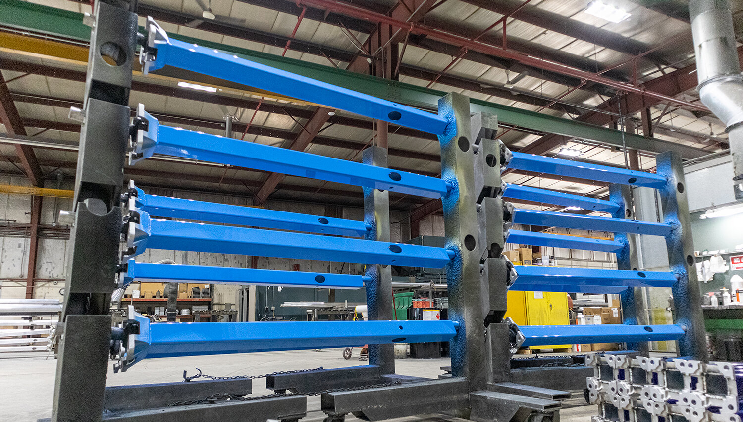 NAFCO's light pole production facility based in Fond du Lac, Wisconsin