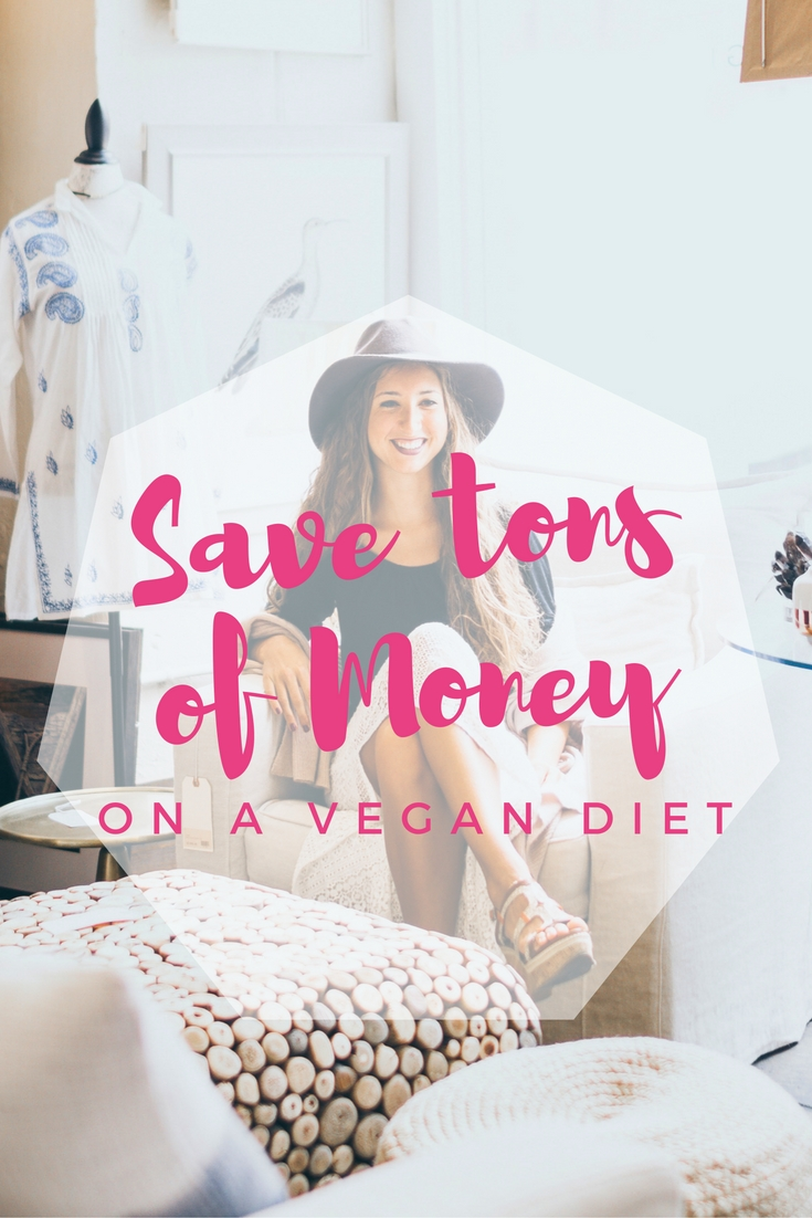 save tons of money on a vegan diet