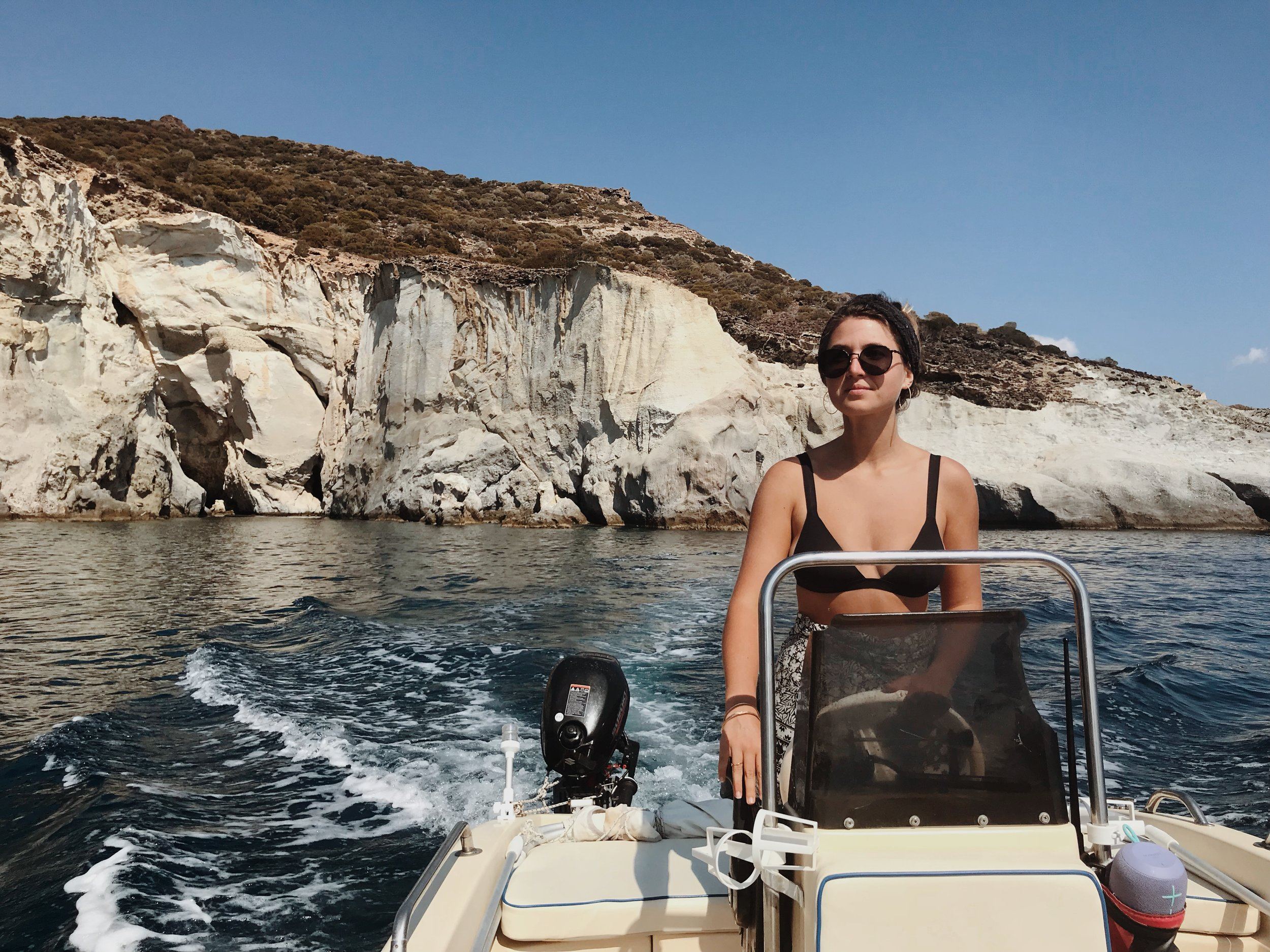 vegan on a boat greece