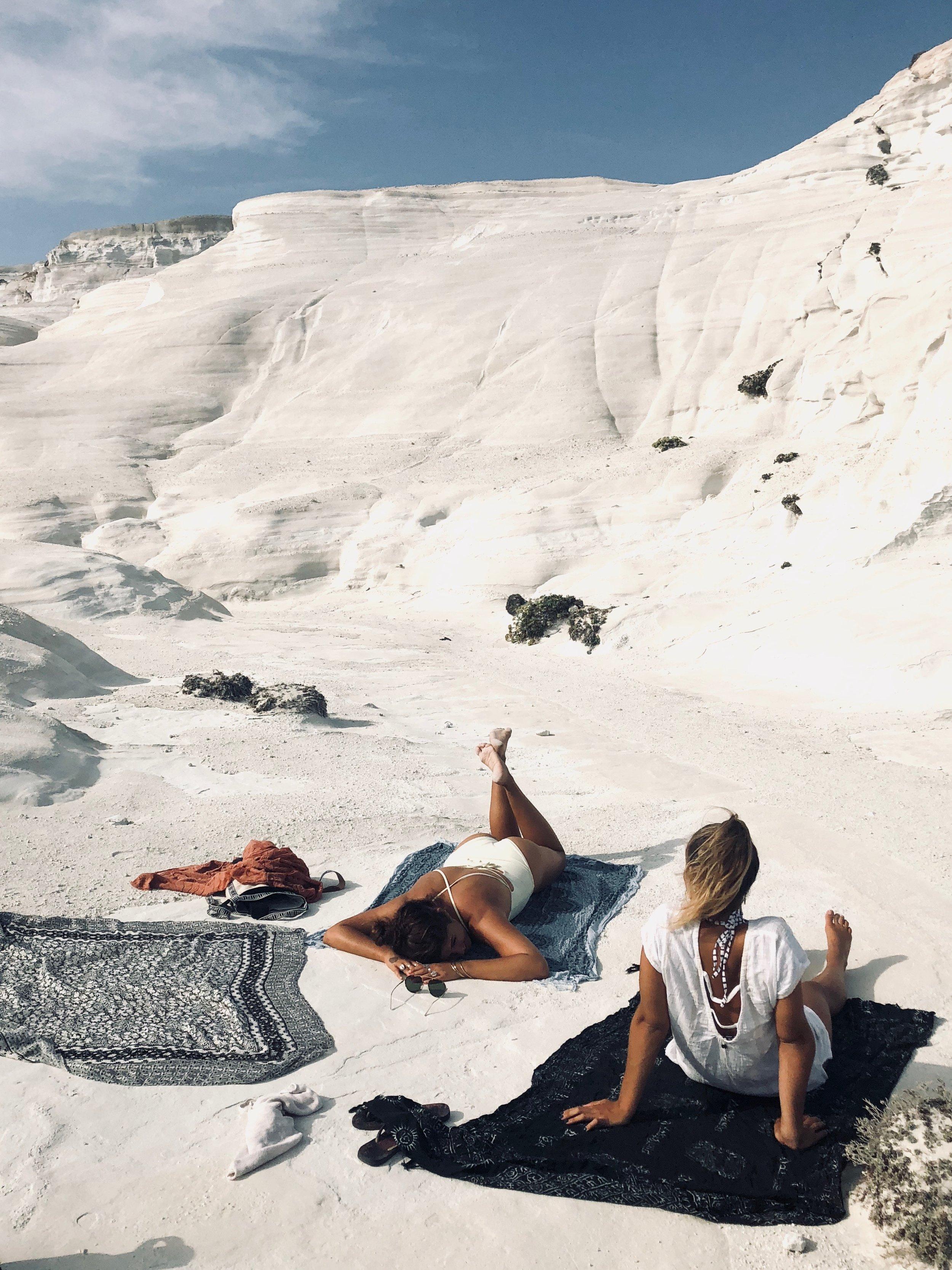 vegan hawaii girls trip to greece