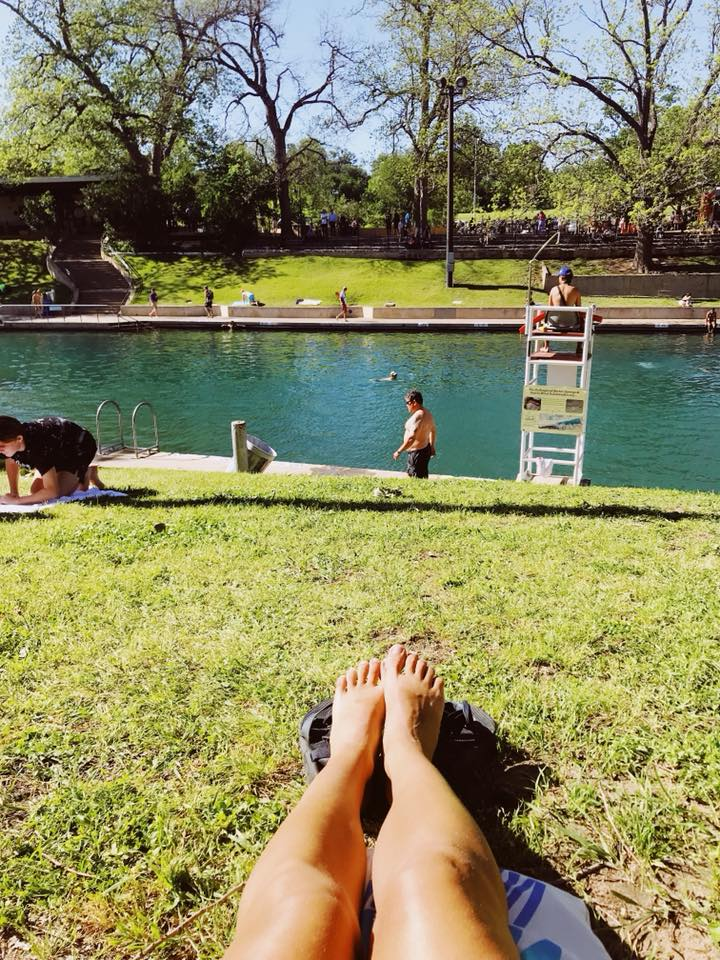 Barton Springs Pool in Austin