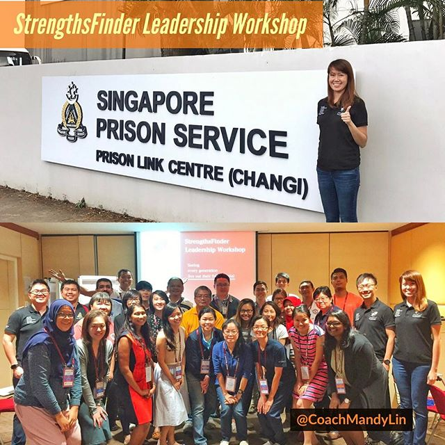 Strengths School conducted a StrengthsFinder leadership workshop for the care officers in Singapore Prison Services end of Feb 2017. These officers took time off their normal job scope to be part of the care officers team and are activated whenever there is a crisis. Some of them in the midst are psychologists and prison wardens. 👍🏻 Through this workshop, the officers get to better understand their talents and how they can use them constructively in their work and also what are some of the times where their talent themes may obstruct them. Great learning session for all the participants and we look forward to more sessions in future! • • • #gallupstrengthsfinder #personaldevelopment #selfdevelopment #selfawareness #strengthsfinder #strengthsfindercoach #knowyourself #strengthscoach #thankyouforthefavor #impactinglives #positivepsychology #focusonstrengths #everyoneisagenius