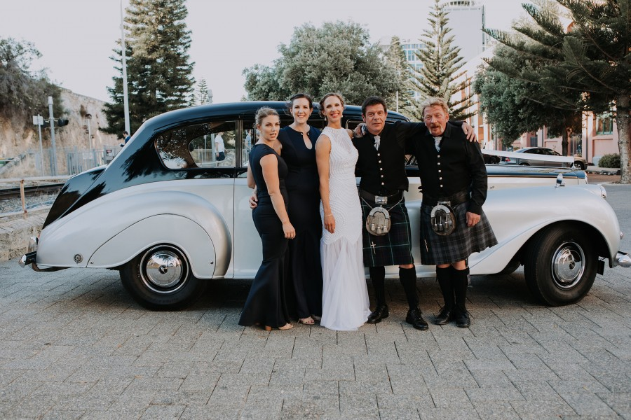 Kasse_John_Modern-Classic-Wedding_Folktales-Photography_037-in-front-of-Very-Nice-Classics-wedding-car.jpg