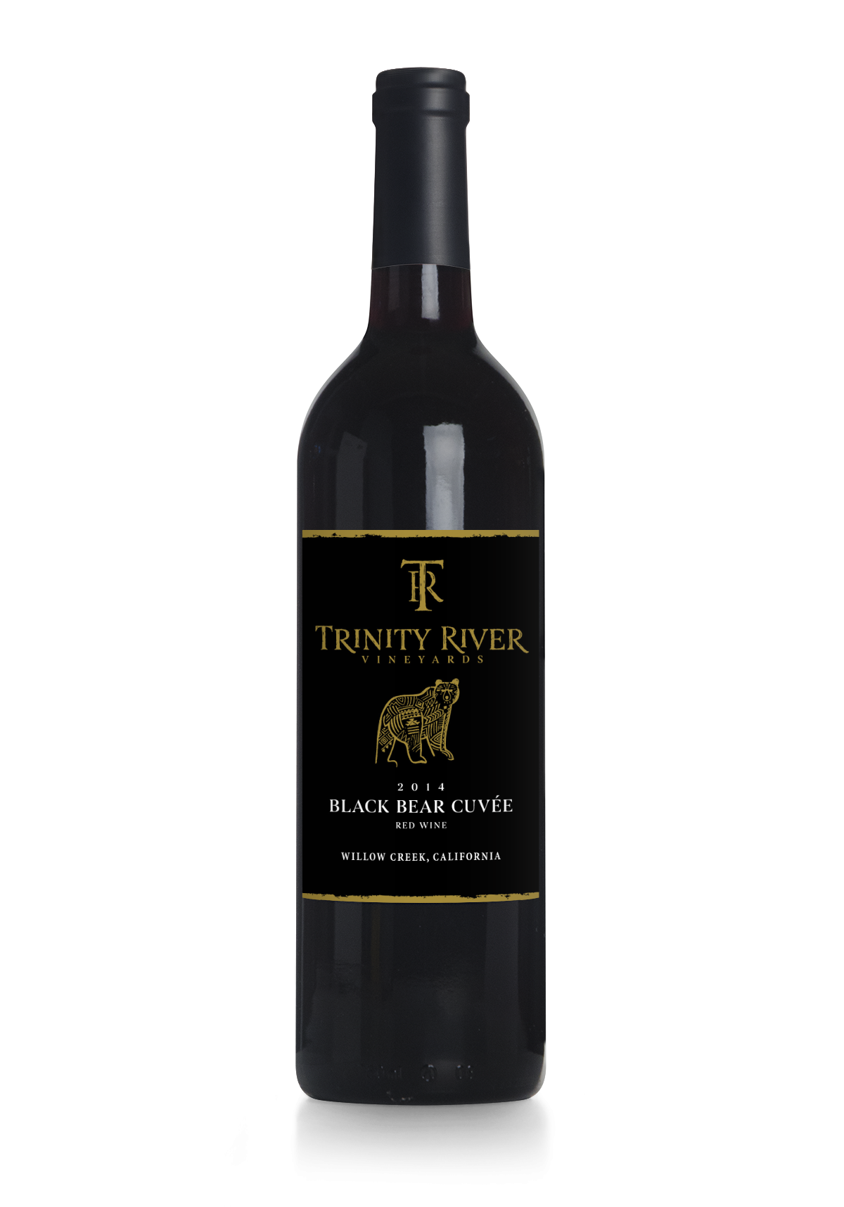 Black Bear Cuvee - 2016   This is a bold, bright blend of Cabernet Sauvignon, Merlot Malbec and Cabernet Franc. The flavors and aromas are red to black fruit, like coastal black berry as opposed to the darker Himalaya berry. There is a touch of pepper and cedar box in the finish. The mouthfeel is smooth and rich balanced by cool-climate acidity, more typical for the northern and mountainous Humboldt County. Ready now, it will only improve over the next 15+ years.
