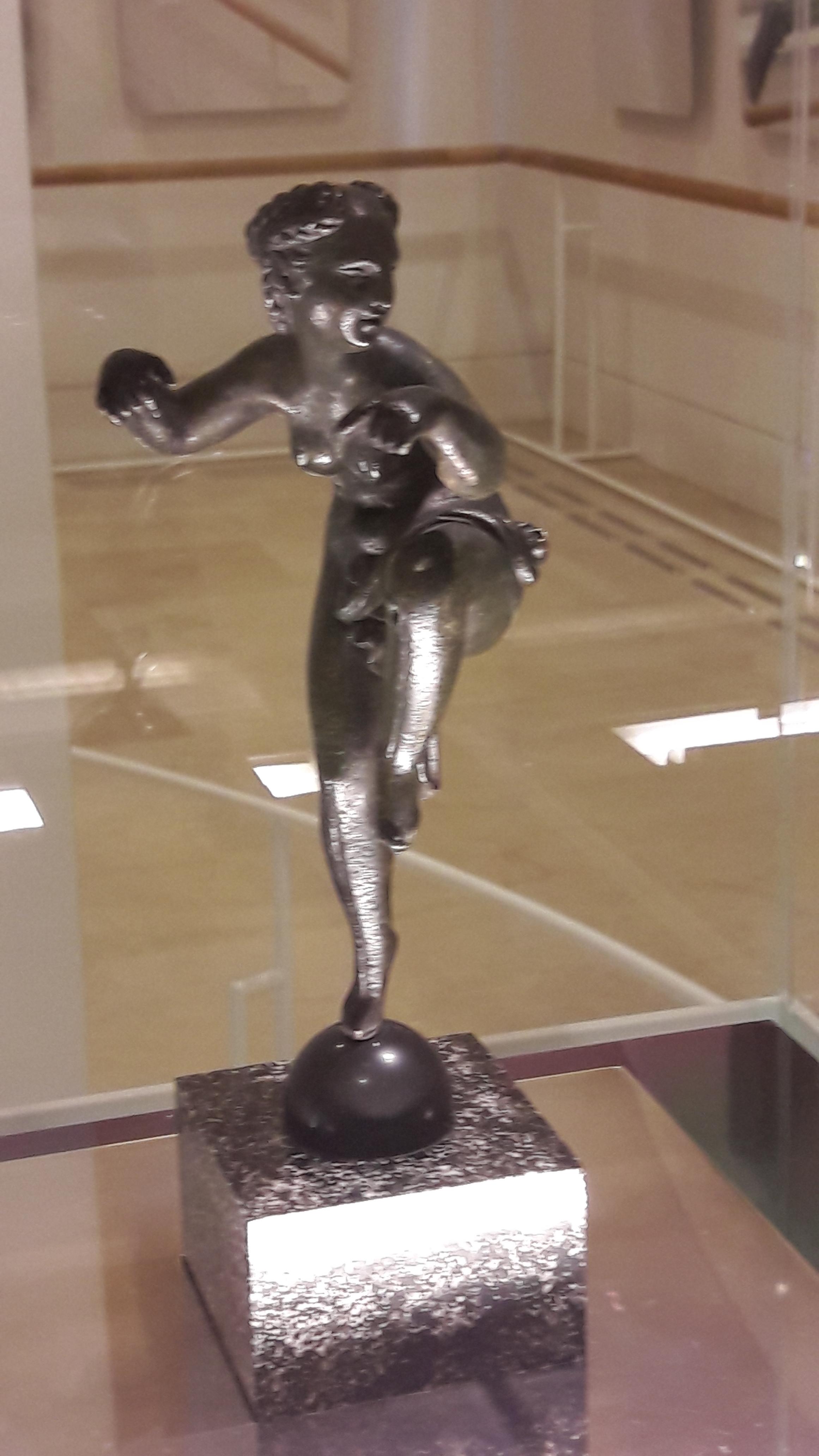 Female Faun dancing