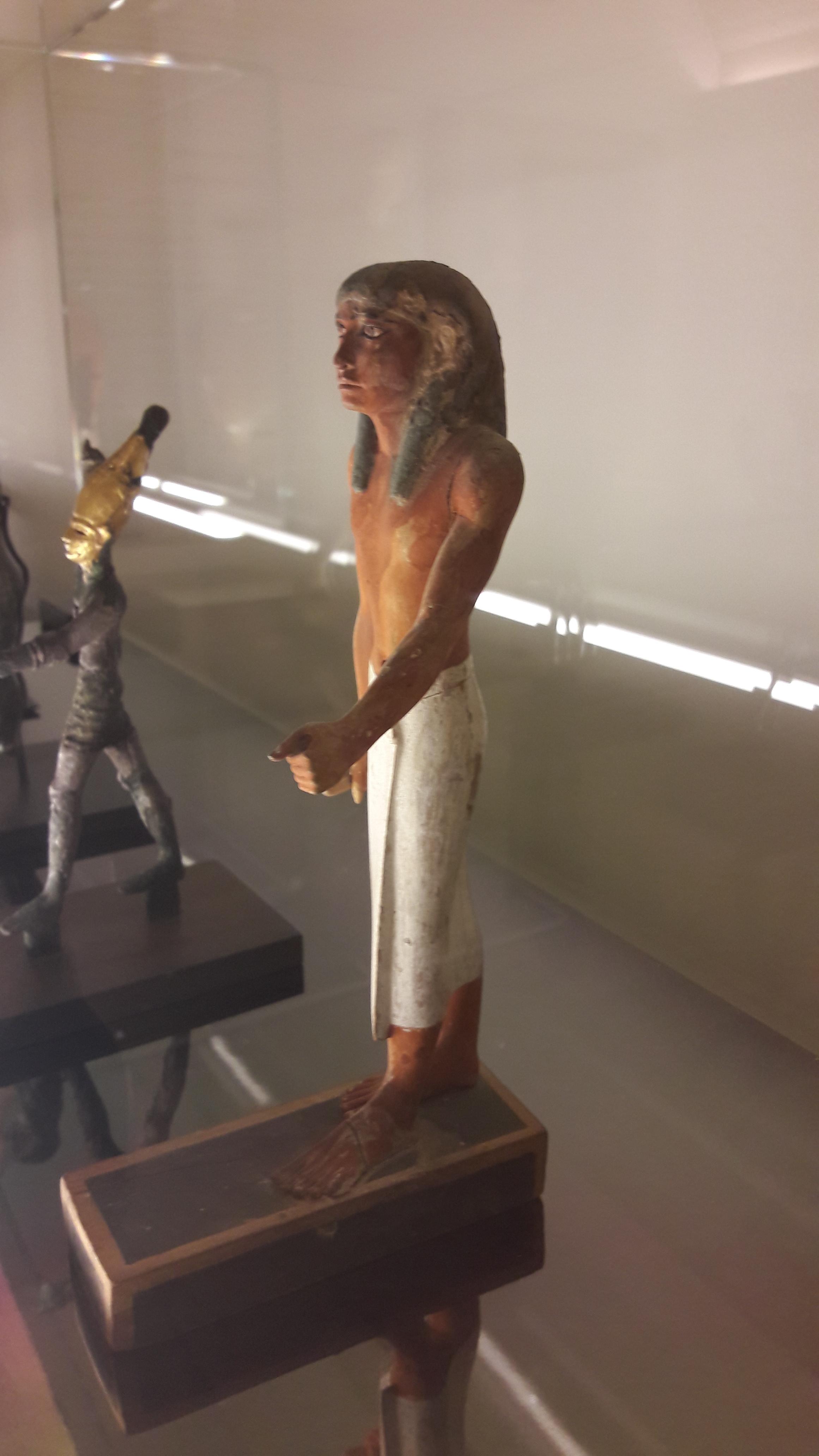 Egyptian walking man
