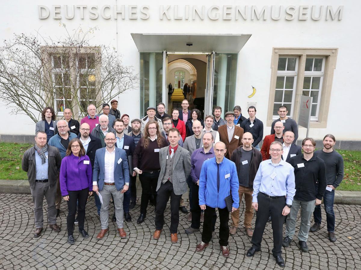 Picture from Tageblatt Solinger (c) Christian Beier. I've uploaded a copy of the newspaper  here .