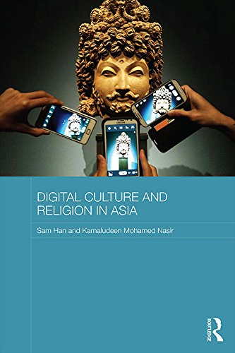 DIGITAL CULTURE AND RELIGION IN ASIA(2015) - This book critically analyses the functions and interconnectedness between religion and digital media in a range of East Asian countries. It discusses both how religious organizations make use of new technologies, and also explores how new technologies are reshaping religion in novel and interesting ways. Based on extensive research, the book focuses in particular on Christianity in South Korea, Neo-Shintoism in Japan, Falun Gong in China and Islam in Southeast Asia. Offering a comparative perspective on a broad range of media practices including video gaming, virtual worship, social networking and online testimonials, the book also investigates the idea that use of technology in itself mirrors religious practices. With an analysis of the impact of religion and new technology on national consciousness in a range of geographical locations, the authors offer a broadening of the scope of the study of religion, culture and media.