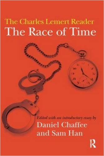 THE RACE OF TIME: THE CHARLES LEMERT READER(2010) - Charles Lemert is one of the most renowned critics of social theory and theorists today. The editors of this book have offered and contextualised many of his best essays and situated them against the backdrop of American sociology. The breadth of Lemert's work doesn't stop at an academic engagement with theoretical debates such as 'globalisation' or 'postmodernism,' but cuts right to the heart of abiding social issues. His work is focused and continues to probe pressing questions such as the rise of vulnerabilities in an era of new capitalism. By weaving together personal narrative, research, lucid explanations, and a dynamic engagement with social theory of old and new, his unique prose renders accessible complex theoretical debates.