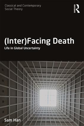(Inter)Facing Death: Life in Global Uncertainty (2019) - In modern times, death is understood to have undergone a transformation not unlike religion. Whereas in the past it was out in the open, it now resides mostly in specialized spaces of sequestration - funeral homes, hospitals, and other medical facilities. A mainstay in so-called traditional societies in the form of ritual practices, death was usually messy but meaningful, with the questions of what happens to the dead or where they go lying at the heart of traditional culture and religion. In modernity, however, we are said to have effectively sanitized it, embalmed it and packaged it - but it seems that death is back. In the current era marked by economic, political and social uncertainty, we see it on television, on the Internet; we see it almost everywhere. (Inter)Facing Death analyzes the nexus of death and digital culture in the contemporary moment in the context of recent developments in social, cultural and political theory. It argues that death today can be thought of as