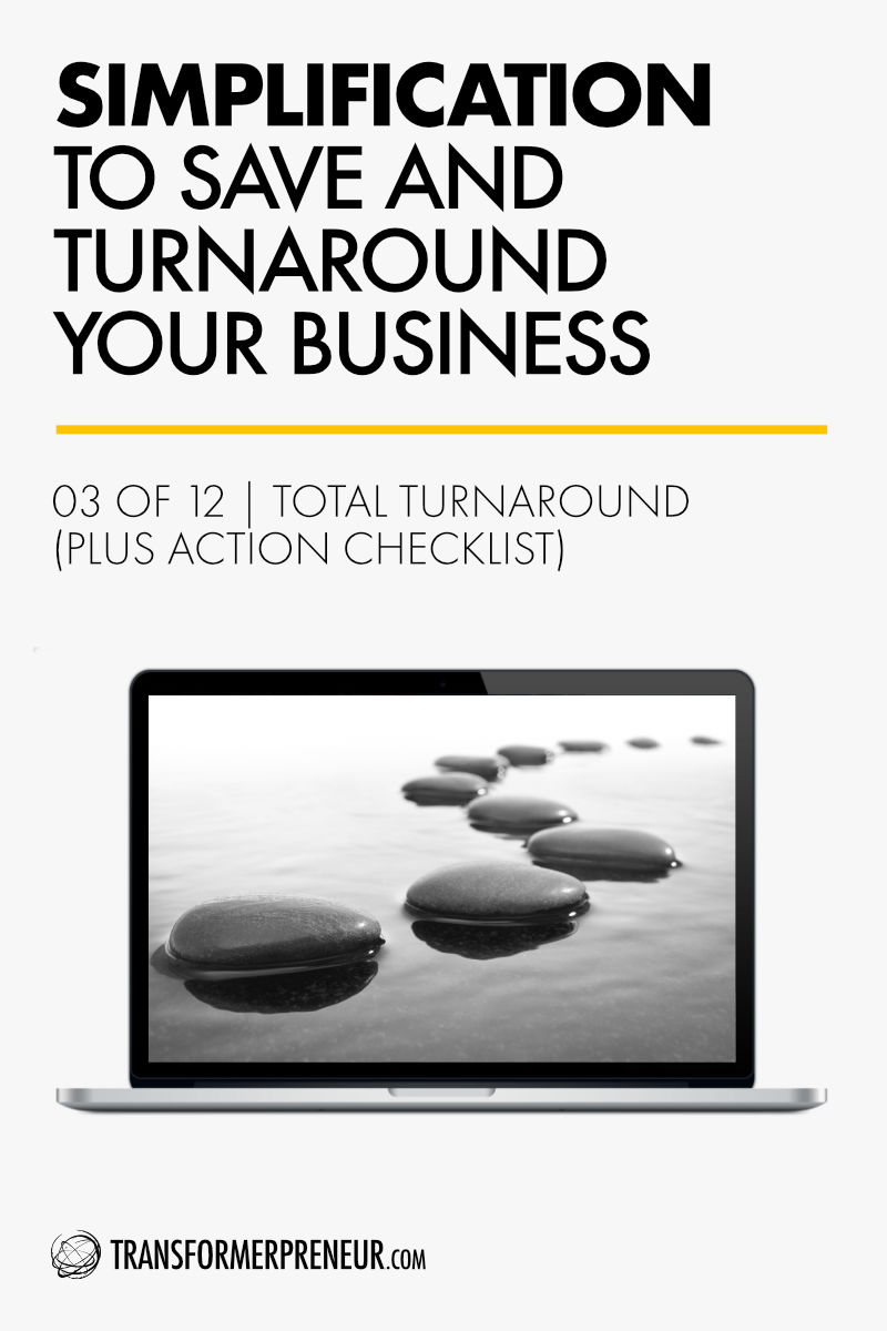 Save Turnaround Grow Your Struggling Consultancy Practice Studio Agency Business Simplification