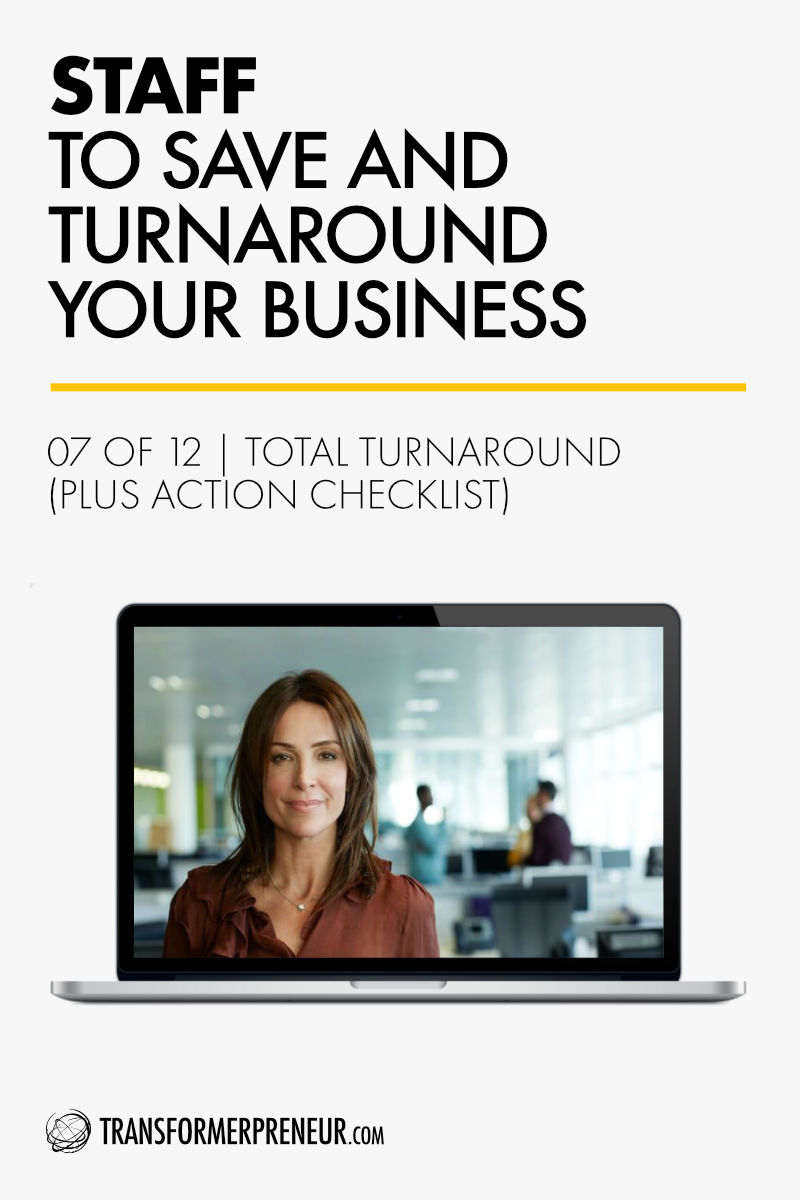 Save Turnaround Grow Your Struggling Consultancy Practice Studio Agency Business Staff Employees