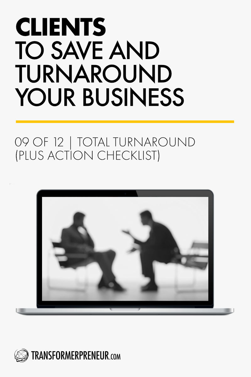 Save Turnaround Grow Your Struggling Consultancy Practice Studio Agency Business Clients